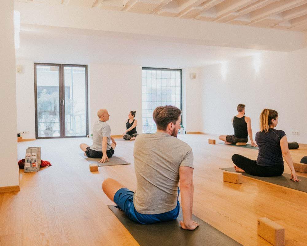 Quadratestadt-Yogastudio