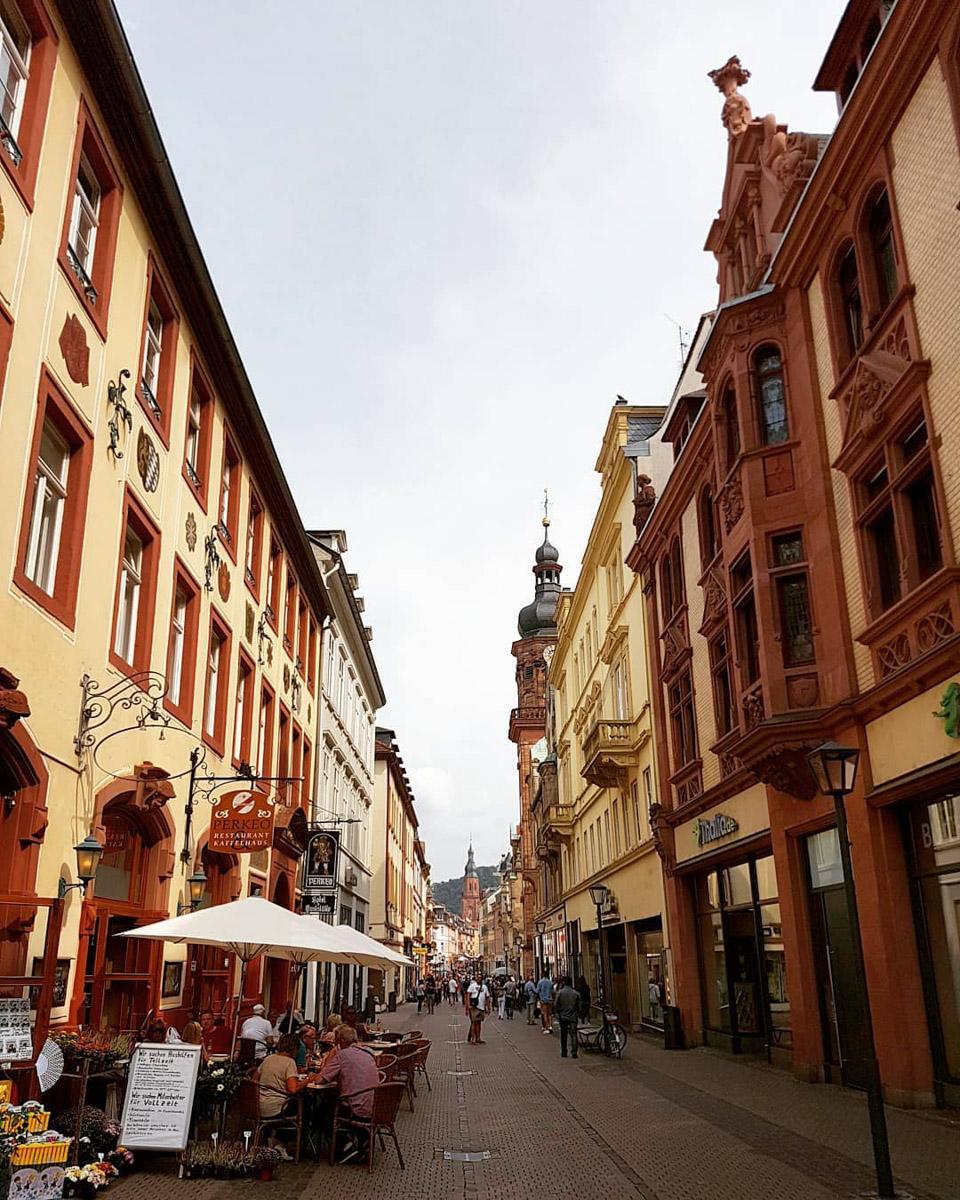 Heidelberg-Einkaufsstrasse